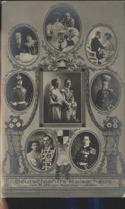Wilhelm II Kaiserin Auguste Viktoria Kaiserhaus Regierungsjubilaeum / Persoenlichkeiten /