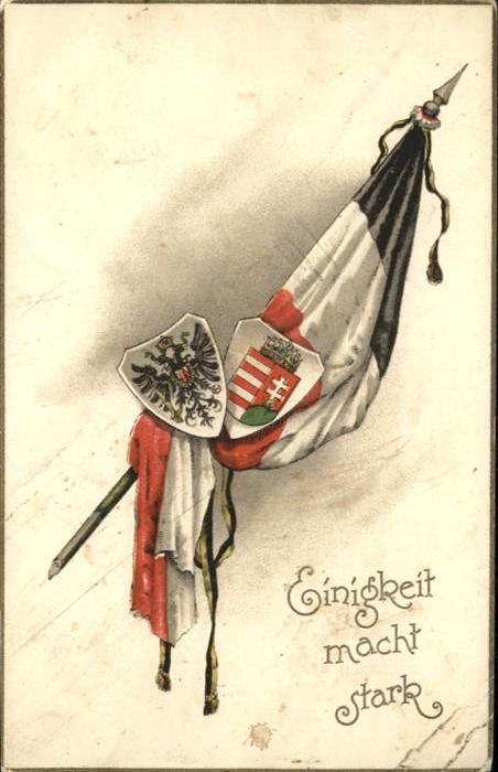 Schwarz Weiss Rot Fahne Wappen / Heraldik /