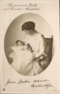 Adel Preussen Kronprinzessin Cecilie Prinzessin Alexandrine