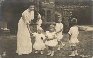 Adel Grossherzogin Alexandra Mecklenburg-Schwerin Erbgrossherzog Kinder