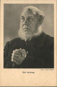 Schauspieler Emil Jannings