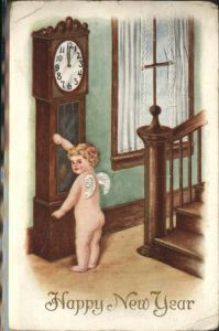 Uhren Engel Neujahr