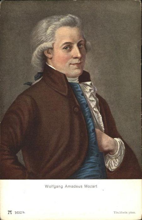 Mozart Wolfgang Amadeus Wolfgang Amadeus Mozart / Komponist /