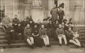 Adel Preussen Wilhelm II Kaiserin Auguste Viktoria Familie
