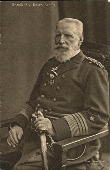 Generaele Exzellenz Knorr Admiral