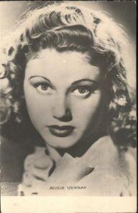 Schauspieler Annie Vernay