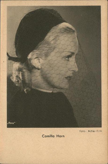 Verlag Ross Camilla Horn