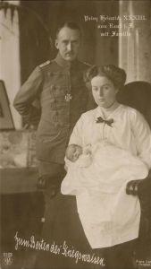 Adel Prinz Heinrich von Reuss  Kat. Koenigshaeuser