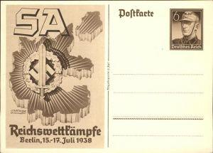 Propaganda WK2 Reichswettkaempfe Berlin Kat. WK2