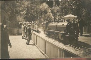 Liliputbahn Verkehrsausstellung Muenchen  Kat. Eisenbahn