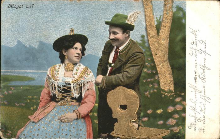 Trachten Mann und Frau
