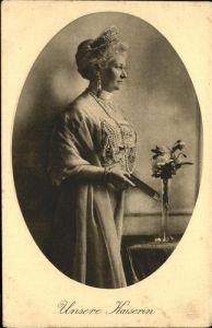 Persoenlichkeiten Kaiserin Auguste Viktoria Kat. Persoenlichkeiten