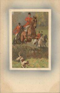 Jagd Pferd Hund Kat. Sport
