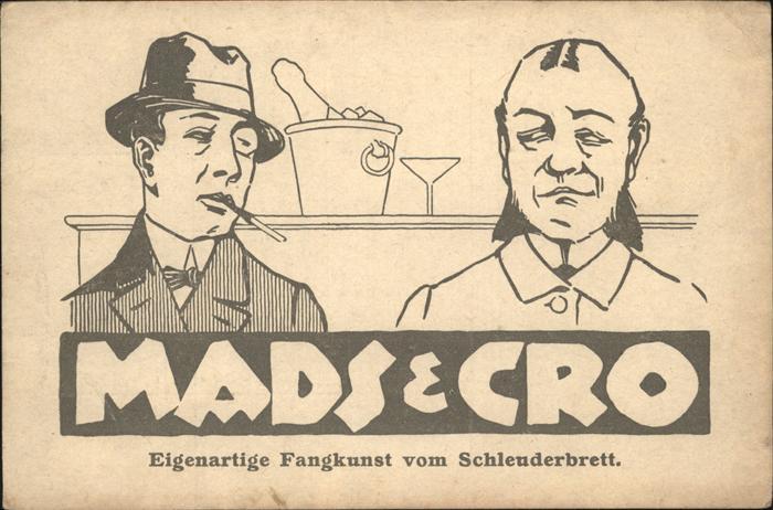 Zirkus Mads Cro Fangkunst von Schleuderbett Kat. Zirkus