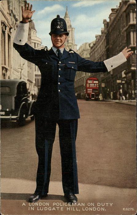 Polizei London Kat. Polizei