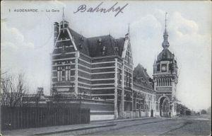 Bahnhof Audenarde Kat. Bahnen