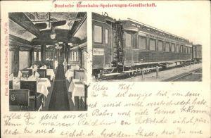 Eisenbahn Speisewagen  Kat. Bahnen