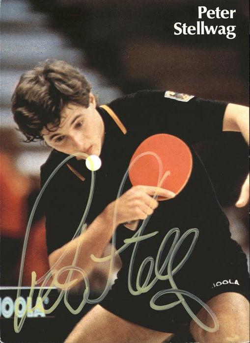 Tischtennis Peter Stellwag Kat. Sport