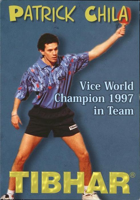 Tischtennis Patrick Chila Kat. Sport