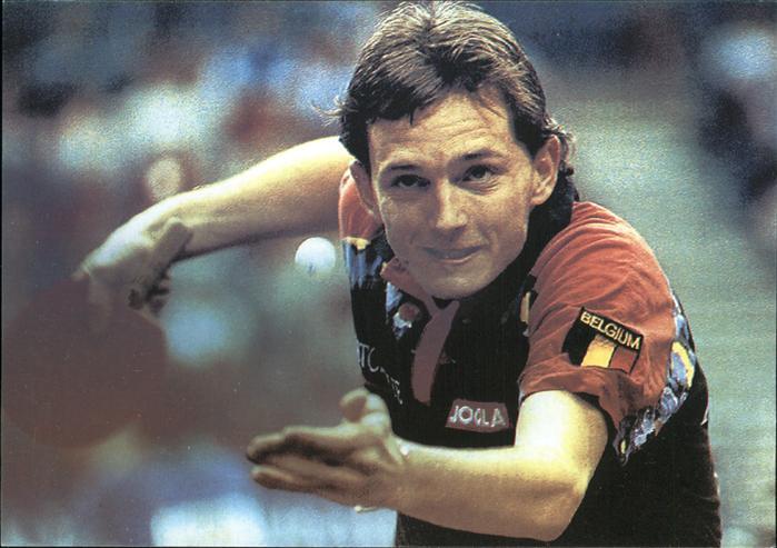 Tischtennis Jean Michel Saive Kat. Sport