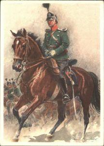 Regimente Dragoner Kommandant Kat. Regimente