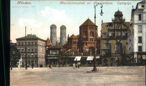 Synagoge Muenchen Maximilianplatz Kat. Gebaeude