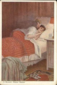 Kuenstlerkarte Nr 231 C Benesch Suesses Traeumen Kat. Kuenstler