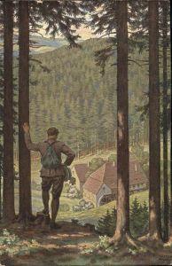 Einbeck Walter Wassermuehle Tal  Kat. Kuenstler