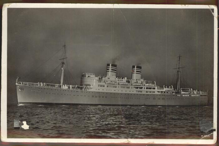 Dampfer Oceanliner Windhuk Deutsche Afrika-Linien Hamburg / Schiffe /