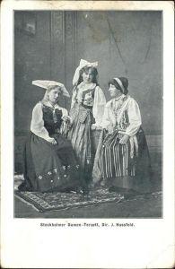 Trachten drei Frauen Kat. Trachten