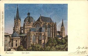 Verlag Braun Nr. Lunakarte Dom Aachen Kat. Verlage