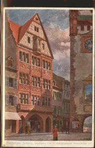 Zeitung Freiburger Zeitung Gebaeude  Kat. Druckerei