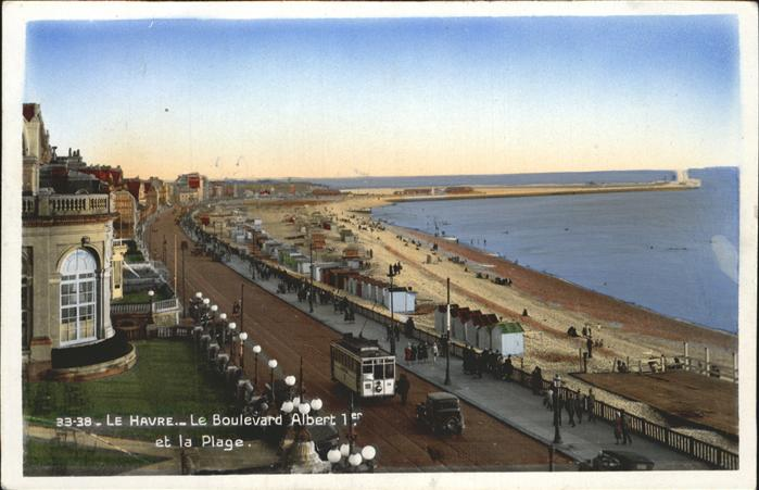 Le Havre Boulevard Albert Plage Kat. Le Havre