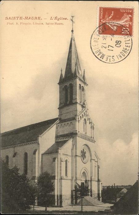 Sainte-Maure Eglise Kat. Sainte-Maure