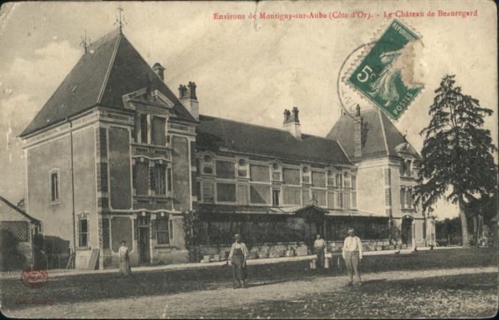 Montigny-sur-Aube Le Chateau de Beauregard / Montigny-sur-Aube /Arrond. de Montbard