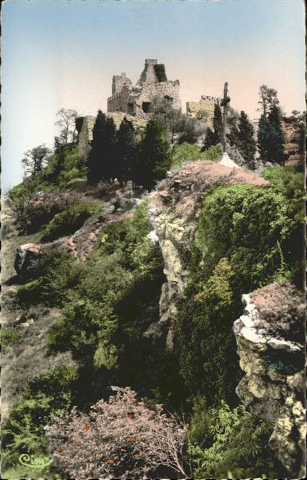 Mondragon Ruines du Vieux Chateau feodal / Mondragon /Arrond. d Avignon