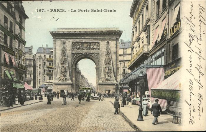Paris La Porte Saint-Denis / Paris /Arrond. de Paris