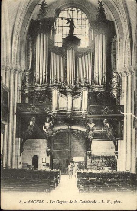 Angers Les Orgues de la Cathedrale / Angers /Arrond. d Angers