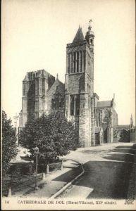 Dol-de-Bretagne Cathedrale de Dol VII siecle / Dol-de-Bretagne /Arrond. de Saint-Malo