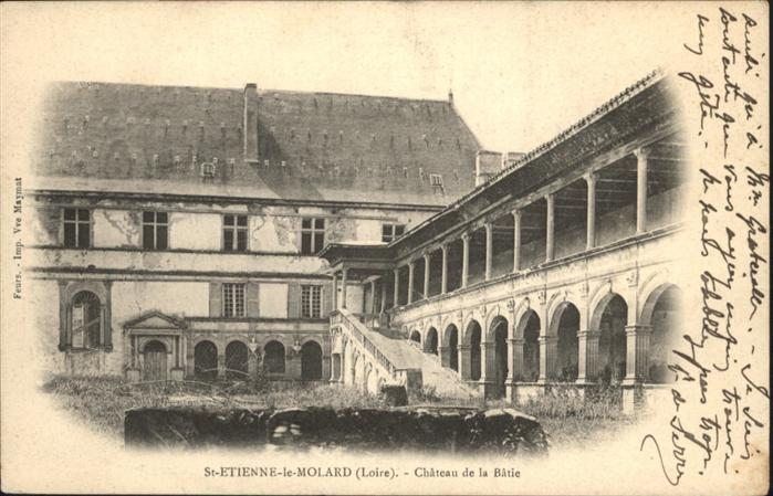 Saint-Etienne Loire Chateau de la Batie / Saint-Etienne /Arrond. de Saint-Etienne