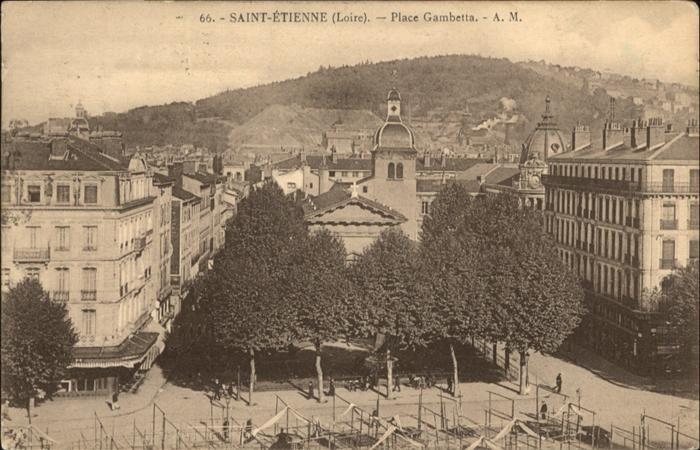 Saint-Etienne Loire Place Gambetta / Saint-Etienne /Arrond. de Saint-Etienne