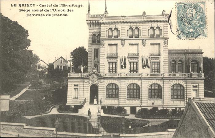 Le Raincy Castel de l'Ermitage / Le Raincy /Arrond. du Raincy