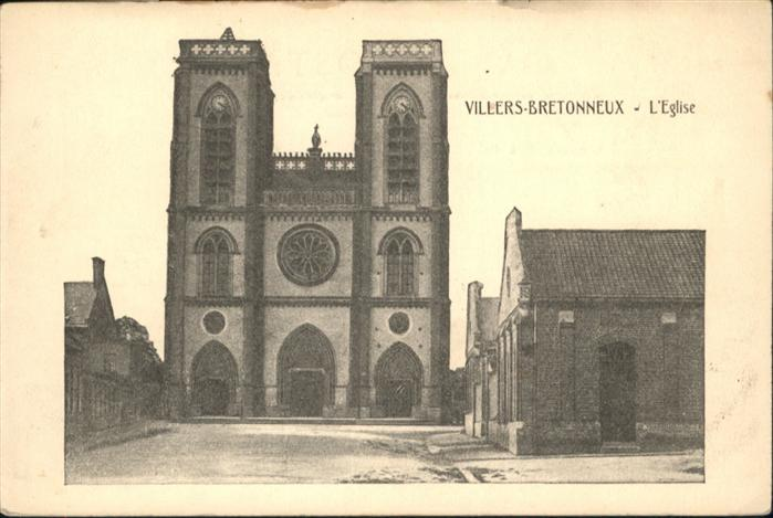 Villers-Bretonneux Eglisee / Villers-Bretonneux /Arrond. d Amiens