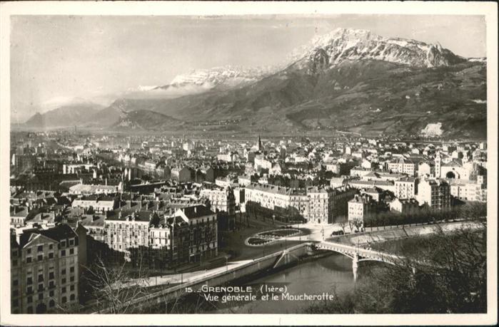 Grenoble Bruecke Moucherotte / Grenoble /Arrond. de Grenoble