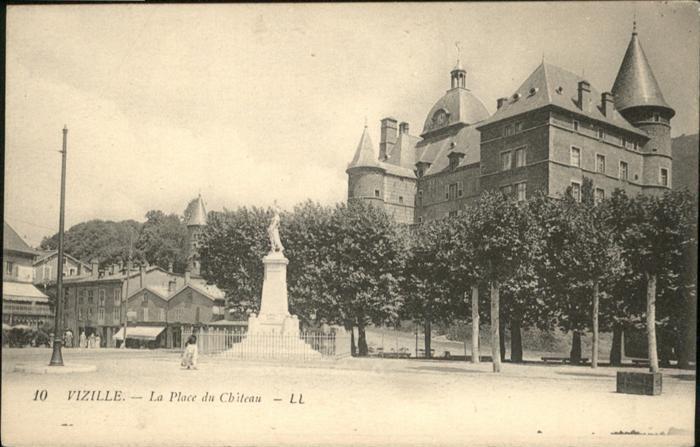 Vizille Place Chateau / Vizille /Arrond. de Grenoble
