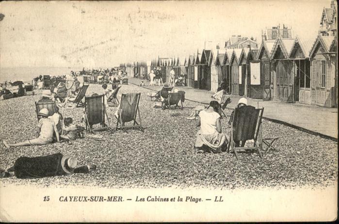 Cayeux-sur-Mer Plage / Cayeux-sur-Mer /Arrond. d Abbeville