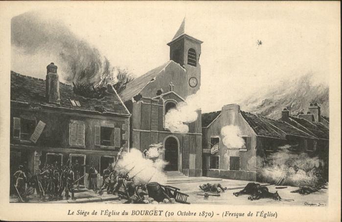 Le Bourget Seine-Saint-Denis Le Siege de l'Eglise du Bourget / Le Bourget /Arrond. de Bobigny