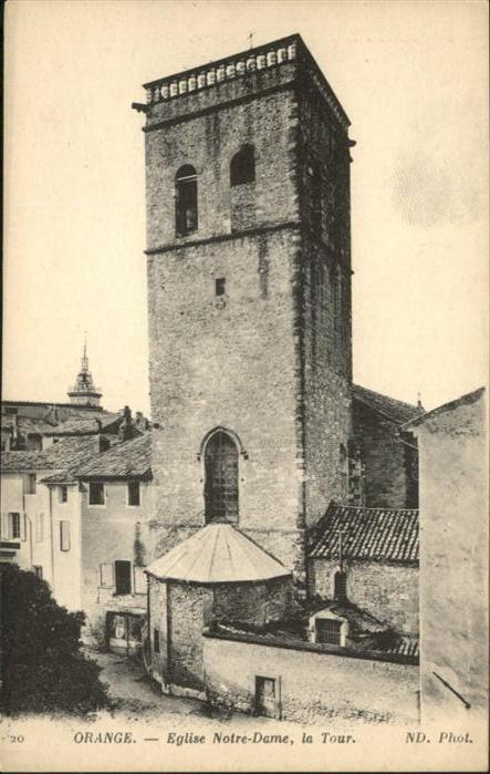 Orange Eglise Notre Dame la Tour / Orange /Arrond. d Avignon