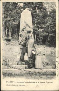 Chagey Monument commemoratif de la Guerre / Chagey /Arrond. de Lure