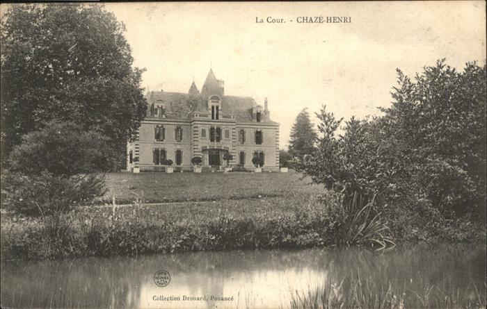 Chaze-Henry la Cour / Chaze-Henry /Arrond. de Segre